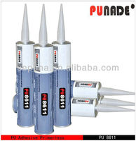 PU8611 one component polyurethane adhesive sealant for car side window glass