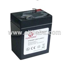 YT640F 6V 4Ah LiFePO4 Lithium-ion Rechargeable Battery