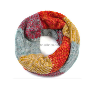 wholesale fashion cute candy color knitting scarf