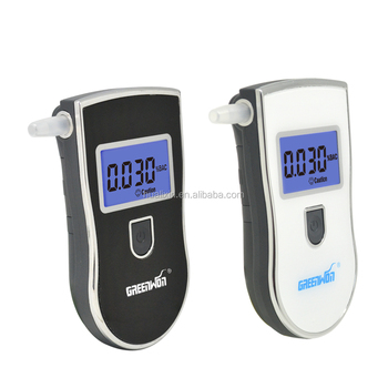 2017 Patent Alcohol Tester AT-818,Professional Digital Alcometer&Portable and Durable Breathalyzer with Mouthpieces