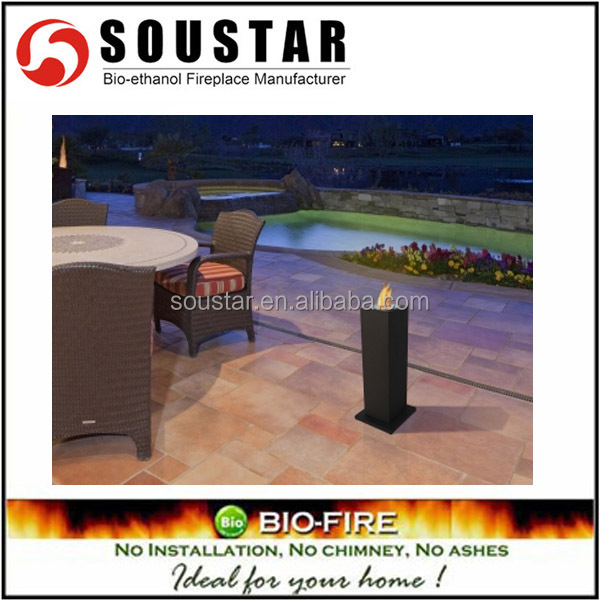 2016 new design indoor usage free standing pellet stove ethanol fireplace