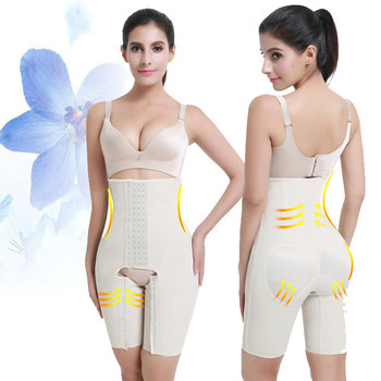 Fit 4 Boned Strapless Body Slimmer Fitness Body Shaper Latex Compression Shapewear