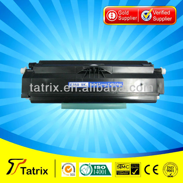 For Lexmark E350 Toner , Compatible Toner Cartridg E350 for Lexmark E350 Toner With ISO,STMC,SGS Approved