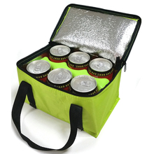 Factory Custom Insulated Bags 600D Polyester Picnic Outdoor Bottle Cooler Bag