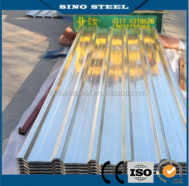 Color Metal Galvanized and galvalume zinc corrugated roofing steel sheet price