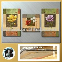 high-rank service Flower rose handmade oil painting