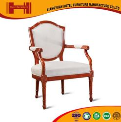 factory custom new classical style luxurious black walnut hotel cherner chair