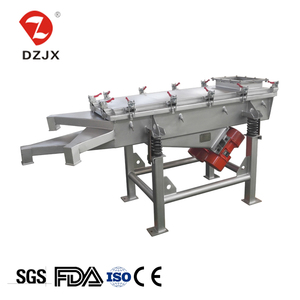 Copper powder Salt linear vibrating screen separator in chemical industry