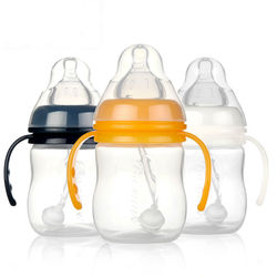 factory price 150ml pp baby feeding bottle bpa free silicone nipple standard size for feeding bottle