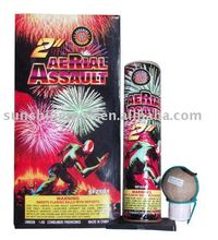 2 inch artillery shell fireworks for Christmas party show
