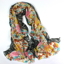 Winter wool scarf shawls for lady scarf By YiWu Linked Fashion