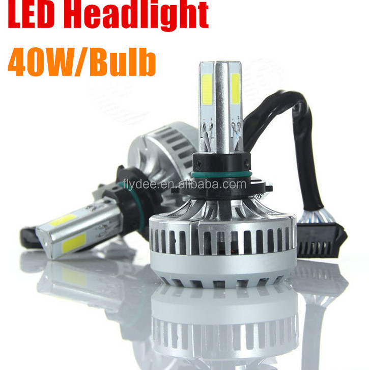 Wholesale 3600LM 80W A-340 Car LED headlight For Audi A3 A4 A5 A6 S Line Q5 Q7 B8