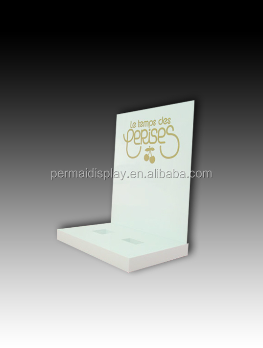 2014 best acrylic perfume display stand/custom counter perfume display case