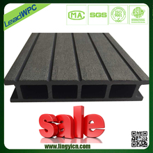 light weight anti-slip surface decking wpc outdoor