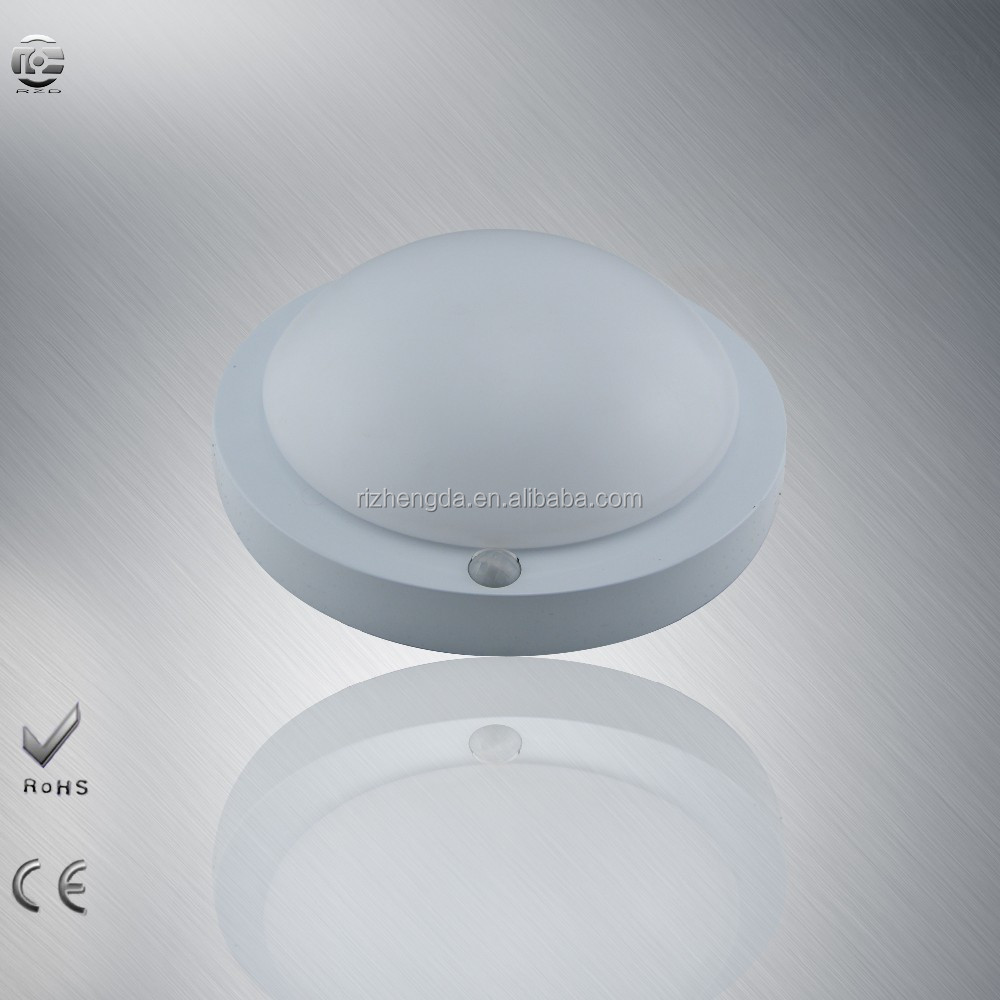 PIR LED Ceiling Light delay time within 60s surface mounted IR motion sensor round ceil lamp
