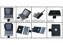 Hot sale newest bluetooth keyboard for ipad 2 anf ipad3/4 can be used as stand