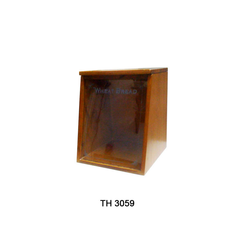2013 Eco-friendly Pine Wooden Bread Box/ Bin/ Keeper made in Vietnam/ Handicraft in Vietnam (TH 3059)