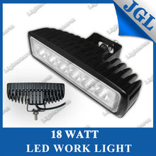 high power 24v led machine work light,18w tractor working lamp,motorcycle headlight universal