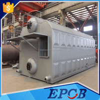 SZL Induction Heating Coal, Biomass, Wood Pellet Water Tube Boiler