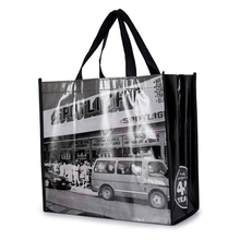 promotional customized image laminated shopping pp non woven bag for gift packing