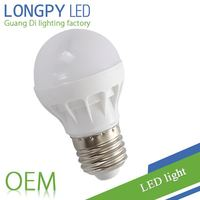 3W Energy saving LED Bulb in plastic body with factory price