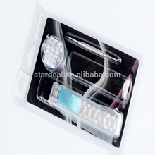 Customized clear gift packaging box PVC watch blister clamshell