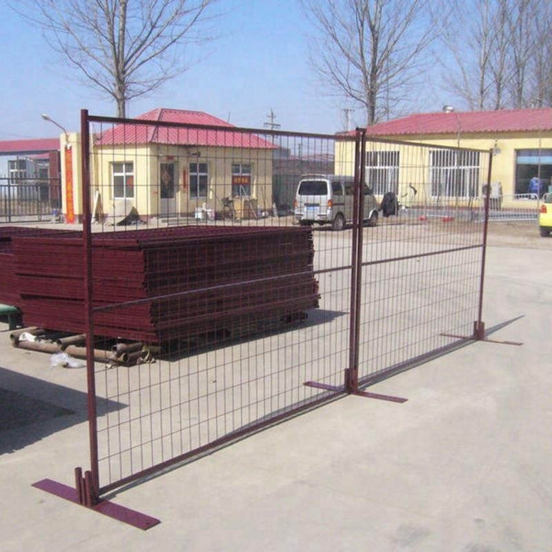 Metal frame wire fencing