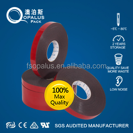Chinese factory good fame automotive double sided foam tape
