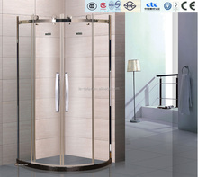 C072 stainless steel frame CE approved shower screen