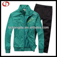 100% polyester tracksuit cheap price
