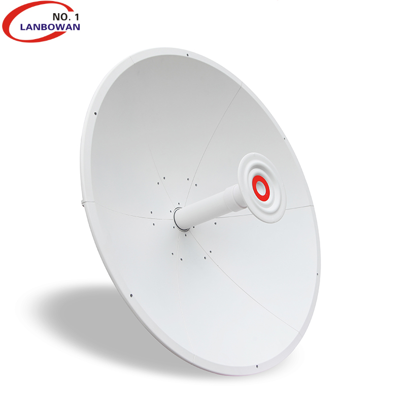 Lanbowan 4.9-6.5GHz 30dBi mimo High Gain Dual Slant 2 feet dish WiMAX wifi <strong>antenna</strong> for ubiquiti radio for mimosa C5X