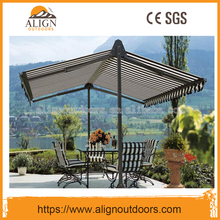 Free Standing Balcony Two/Double Side Sunshades Vertical Awning