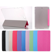 Factory wholesale ultra thin leather flip stand smart cover case for Samsung Galaxy S2 T710