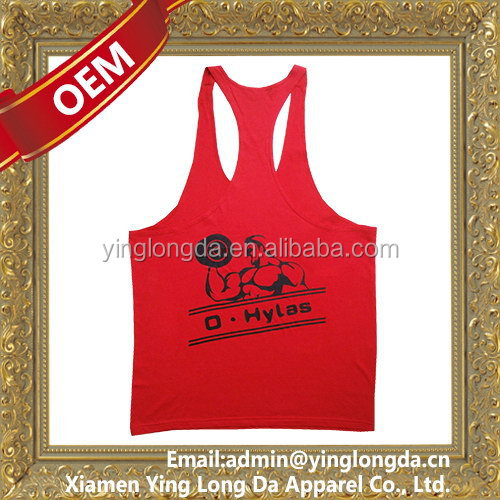 Cheap useful custom stringer tank top