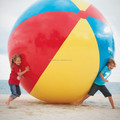 PVC inflatable giant global beach ball for children