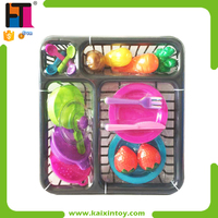 Wholesale Pretend Play Toy Plastic kitchen utensils For Kids