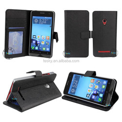 leather flip cover case for asus zenfone 5, stand cover case for asus zenfone 5