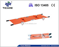 Telescopic Folding Ambulance Stretcher with 2 or 4 parts