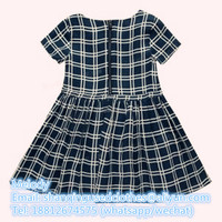 Used Clothes Used Children Black Plaid