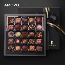 AMOVO high end celebrations handmade candy and chocolate valentine chocolate