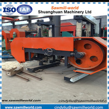 Large size horizontal band saw for cutting wood machine for sale