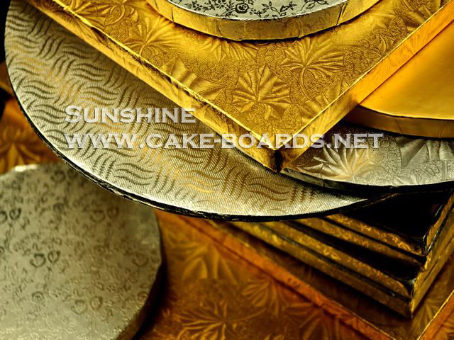 economic and plactical The Gold/silver cake Boards/Drums