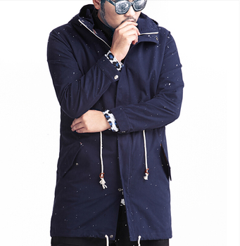29Gentlemen's long sleeve BUTTON thickens maintains warmth jacket for WINTER season,fom Guangzhou