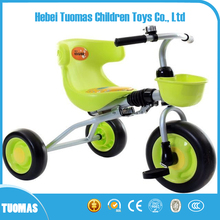 2017 new China factory new model folding kids tricycle for kids ride on car