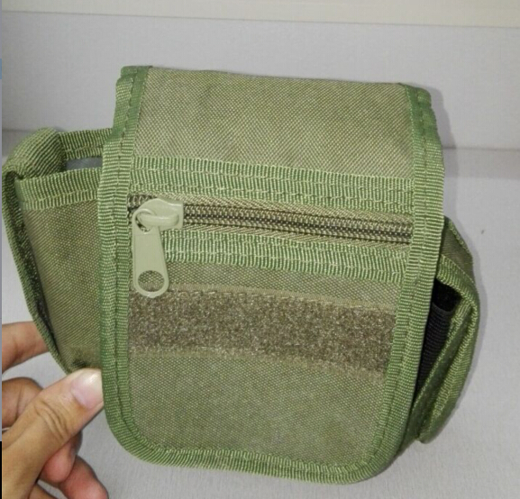wholesale duffle molle army green velcro police army pouch tactical military waist belt pouch