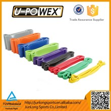 Wholesale Latex Rubber Yoga Loop Resistance Band Stretch Crossfit Loop Bands