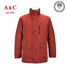 XXXL Mens Winter Quilted Clothing With Very Cheap Price