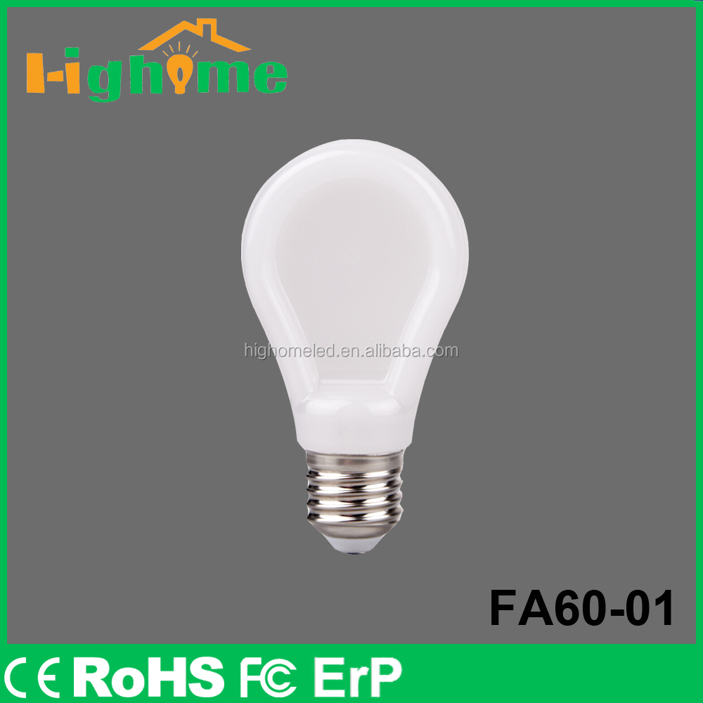 LED Lightings Flat Bulb Housing Use