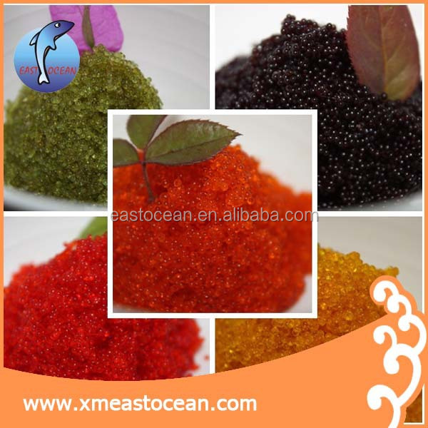 Wholesale custom high quality frozen canned Tobiko flying fish roe