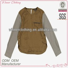 famous name brand garments design ladies blouses feminine
